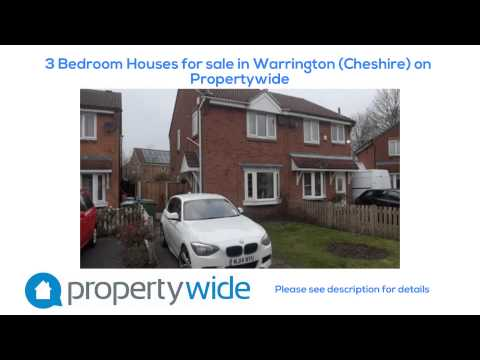 3 Bedroom Houses for sale in Warrington (Cheshire) on Propertywide
