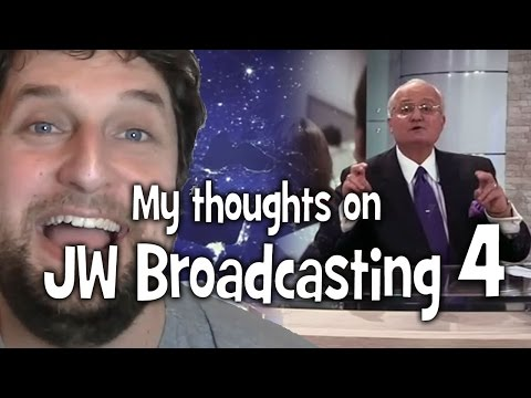 My thoughts on JW Broadcasting 4, with Tony Morris (tv.jw.org) - Cedars' vlog no. 67