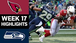 Cardinals vs. Seahawks | NFL Week 17 Game Highlights