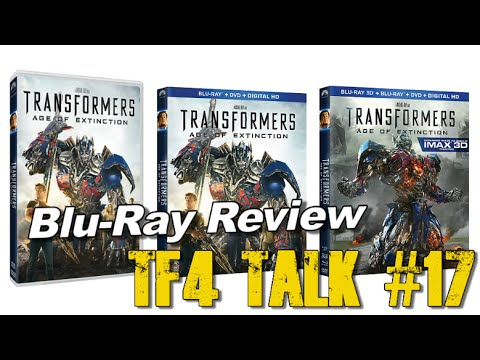Blu-Ray Review: Transformers Age of Extinction - [TF4 Talk #17]