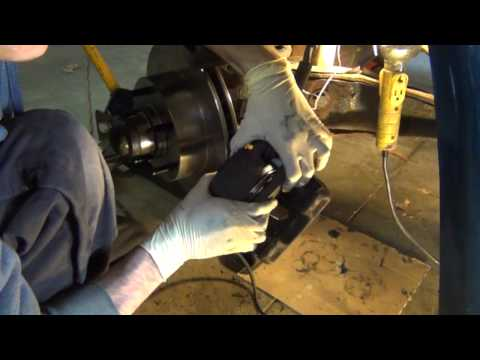 How to change rotors and pack wheel bearings on ford truck