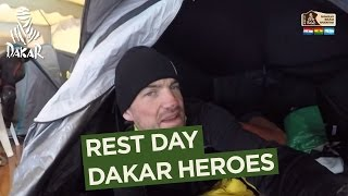 Rest day - Dakar Heroes - Dakar 2017