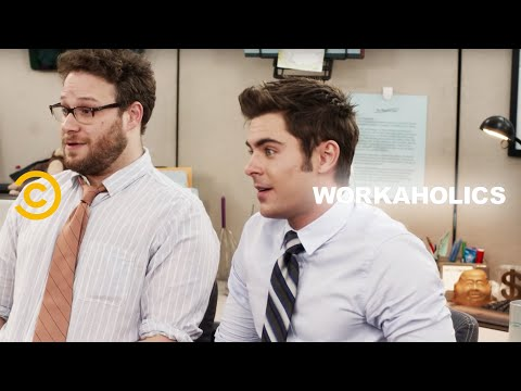The Workaholics Guys Find a New Cubicle Mate (feat. Seth Rogen and Zac Efron) - Uncensored