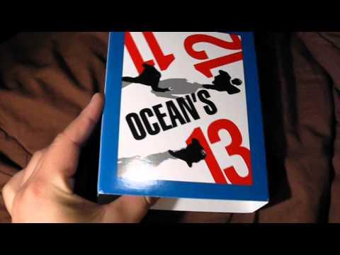 Oceans: Eleven Twelve Thirteen Bluray Collection Unboxing