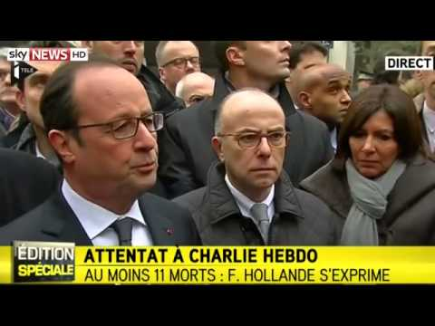 The French President  The Attack Is A 'Barbaric Act'