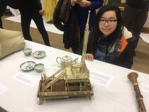 Jiangsu students pick Essex artefacts for Nanjing exhibition about Georgian England.