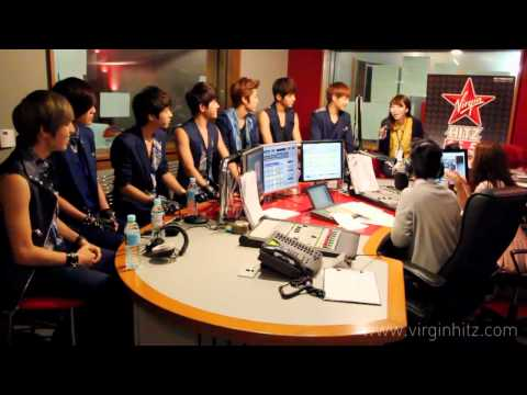 120726 INFINITE Interview @ Virgin HitZ Radio in Thailand