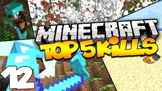Top 5 Minecraft Kills - Skywars Takedown, Boat Kills, & MORE! (Episode 12)