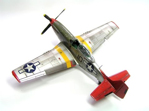 P-51 Mustang Airfix 1/72 step by step