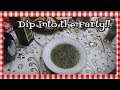 Olive Oil and Balsamic Bread Dip ~ Entertaining on a Budget ~ Holiday Party Ideas ~ Noreen's Kitchen