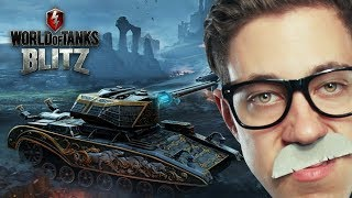 Dracula & Hellsing Panzer?!   World of Tanks BLITZ