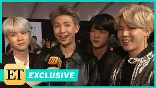 BTS Say They Don't Need Girlfriends When They Have Fan Army (Exclusive)