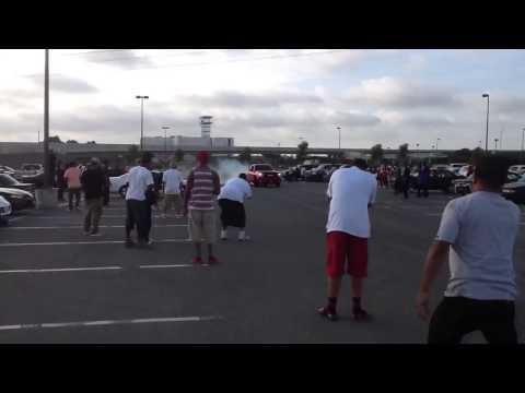 Camaro and than truck crash