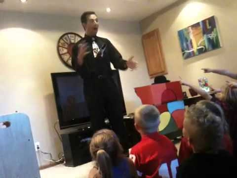 Joe Cole Magic Show Video