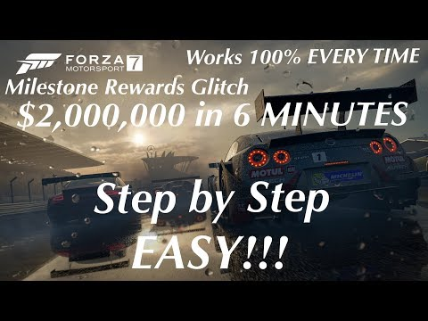 LATEST Forza 7 UNLIMITED Money Glitch!! AFTER PATCH w/ PROOF!!