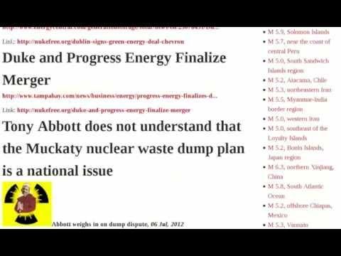 Fukushima New Australian Uranium Wind Australia Solar -Disaster National Japan Official