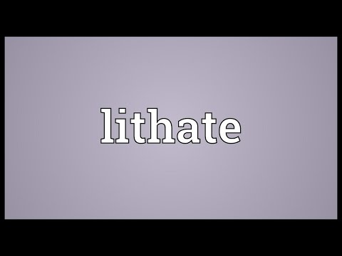 Header of lithate