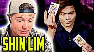 Shin Lim bei America's Got Talent RUNDE 2 - 52 Shades of Red Reaktion (Zauberer reagiert)
