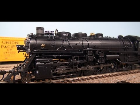 Review: BLI 2-10-2 Steam Locomotive DC/DCC/Paragon 2 Sound