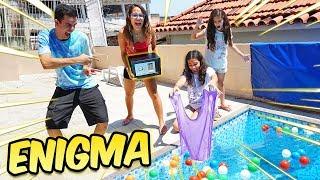 SUMIMOS COM OS SLIMES DELA! (ENIGMA) - KIDS FUN