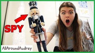 Mysterious Nutcracker Spy Found Me! The Toy Collector 1 / AllAroundAudrey