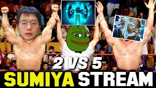 Intense Game with OP Fallen Sky | Sumiya Stream Moment #1272