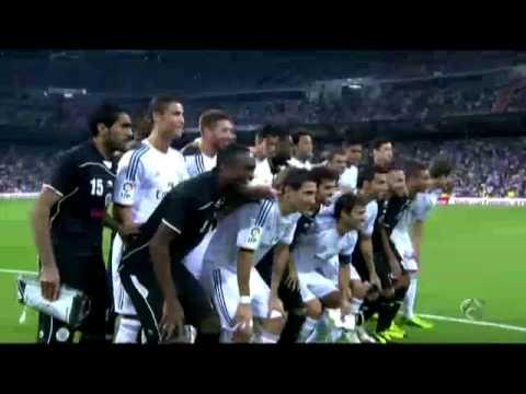 Homenaje + Gol Raúl Gonzalez Blanco - Real Madrid 5-0Al Sadd