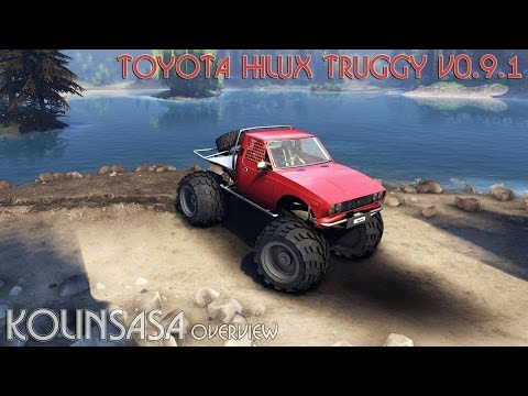 Toyota Hilux Truggy v1.0 wheels2