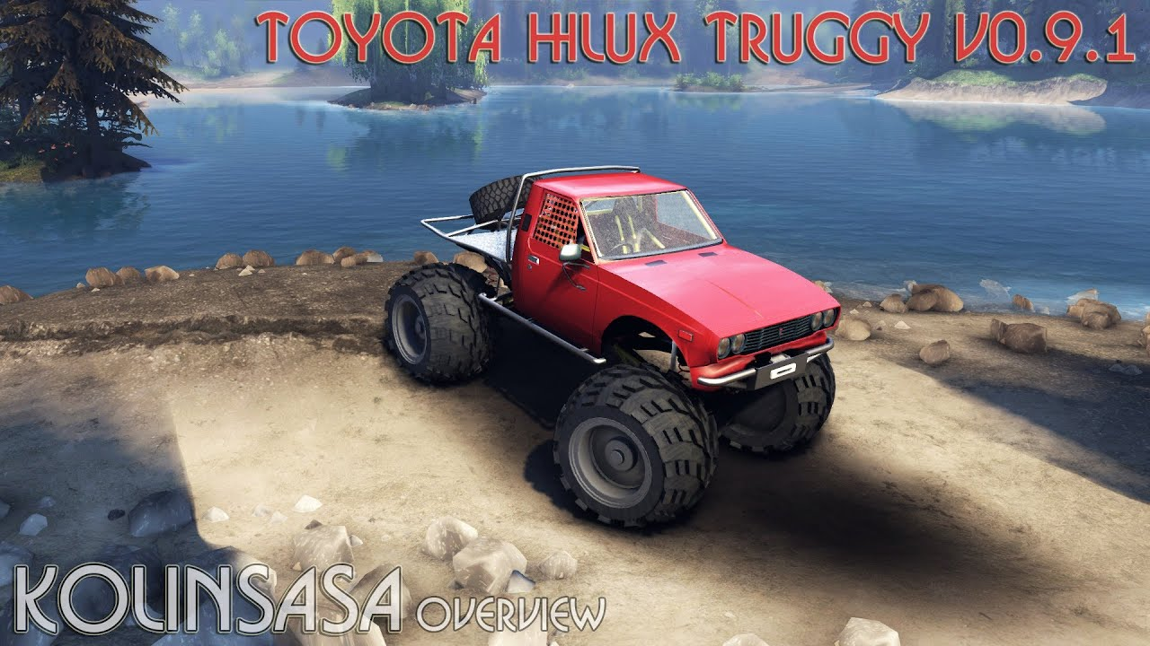 Toyota Hilux Truggy Spintires 2014 Toyota Hilux