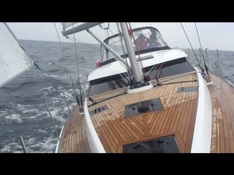 Delphia 46 Review - Factory visit and Test-Sail