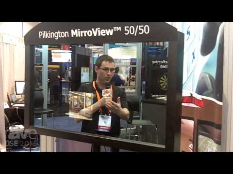 DSE 2015: Pilkington Demonstrates MirrorView 50/50, a Combination Mirror and Digital Signage Display