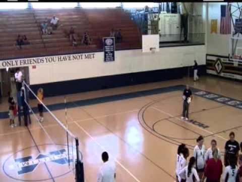 Massachusetts Maritime Volleyball vs. SUNY-Maritime - 9/16/12