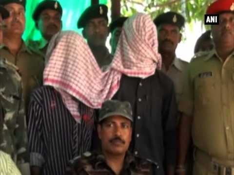 Police arrest two Maoist rebels in Jharkhand's Khunti district
