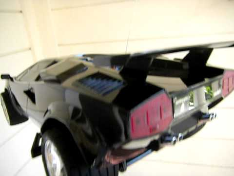TYCO R/C  LAMBORGHINI 9.6V TWIN TURBO MOTORS