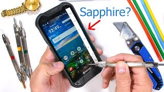 A Rugged SAPPHIRE Covered Smartphone? - Durability Test!
