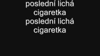 Vypsaná fixa-33 cigaret