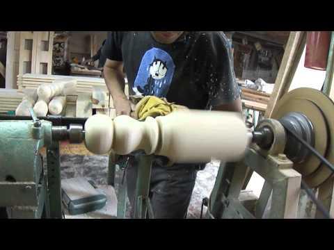 record de torneado de madera (woodturning)