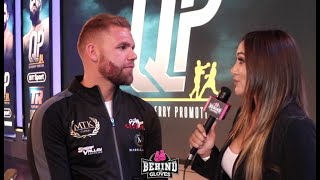 BILLY JOE SAUNDERS EXPLAINS WHY HE'S NOT FIGHTING ANDRADE & GOING FOR SUPER MIDDLE TITLE INSTEAD!