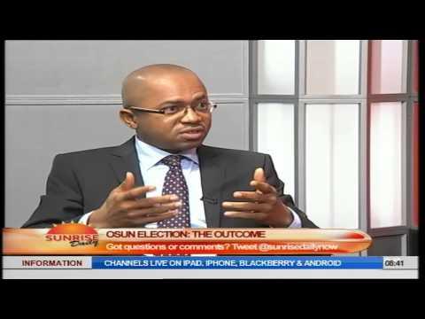 Osun Election: INEC Has Shown Improvement- Ezeala Part.1