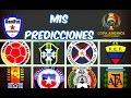 """Mis predicciones """"COPA AMÉRICA CENTENARIO"""" Fase de grupos"""