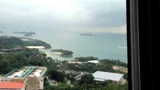 Toàn cảnh đất nước Singapore được thu lại từ trên cao