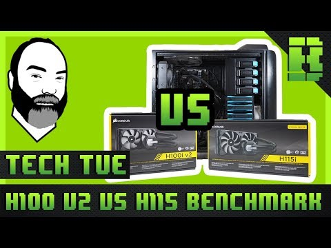 Corsair H80i vs H100i vs H115i V2 Comparison / Benchmarks / Installation | CPU AIO Cooler Review
