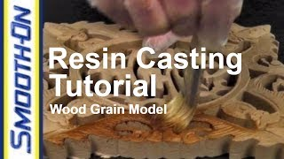 Resin Casting Tutorial - How to Achieve a Faux Wood Grain Finish | Casting Quickies