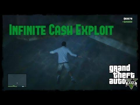 GTA V: Infinite Cash Exploit
