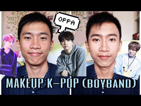 TUTORIAL MAKEUP K-POP (BOYBAND)