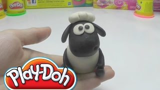 Play Doh Shaun the Sheep - How to Do
