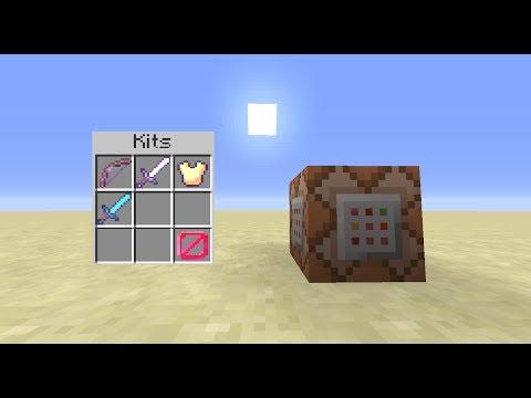 Minecraft 1.8 : Sistema de kits   Vanilla