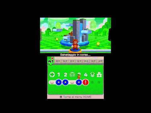 Super Mario 3D Land - 100% Walkthrough - Parte 01 di 17