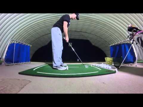 Columbus, OH golf dome - Matt, 4-iron