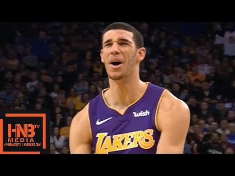 Lonzo Ball (24 pts, 5 reb, 5 ast) Full Highlights vs Warriors / Week 10 / Lakers vs GS Warriors